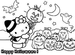 Fantome - planse de colorat halloween - colorica