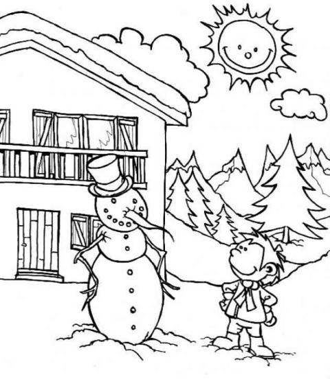 Planse De Colorat Si Fise De Desenat Pentru Copii Colorica